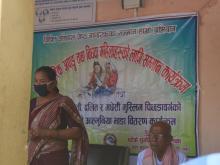 दलित/जेष्ठ नागरीक, अपाङ्ग तथा विधवा/एकल महिलाहरुको लागि सम्मान कार्यक्रम