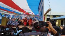 श्री नेपाल राष्ट्रिय आधारभूत विद्यालय लक्ष्मीपुरमा वार्षिक महोत्सव समारोह २०७६ को तस्वीर