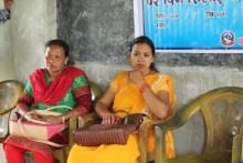 बाडी पिडित महिलाहरुको लागि सिलाई कटाई  तालिम