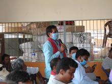 आ.व २०७७/०७८ को निती तथा कार्यक्रम प्रस्तुतिकरण कार्यक्रमको तस्वीर