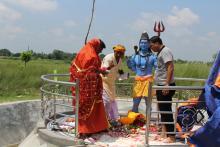 भुमरीमाई धार्मिक पर्यटन स्थलमा श्री शंकर महादेवको मूर्तिको प्राण प्रतिष्ठा पूजा समारोह कार्यक्रम