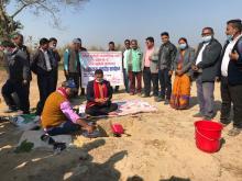 १० शैया/बेड अस्पताल भवन निर्माणको शिलान्यास कार्यक्रम