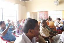 दाेस्राे गाउँ सभाकाे प्रथम बैठक काे तस्वीर