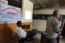 FIPV खोपको शुरुवात तथा PCV भ्याक्सिनको भायल परिवर्तन बारे अभिमुखिकरण कार्यक्रमकाे तस्वीर