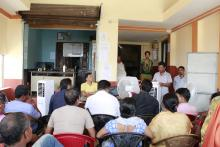 दोस्रो गाउँ सभा आ.व. २०७५।०७६ को निति बजेट तथा कार्यक्रमको तस्वीर