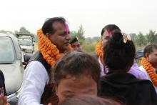 श्री माननिय मुख्य मंत्री सँग भेटघाटको तस्वीर
