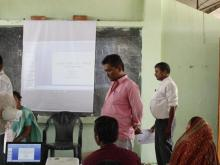 उपभोक्ता समिति गठन तथा परिचालन सम्बन्धी तालिम